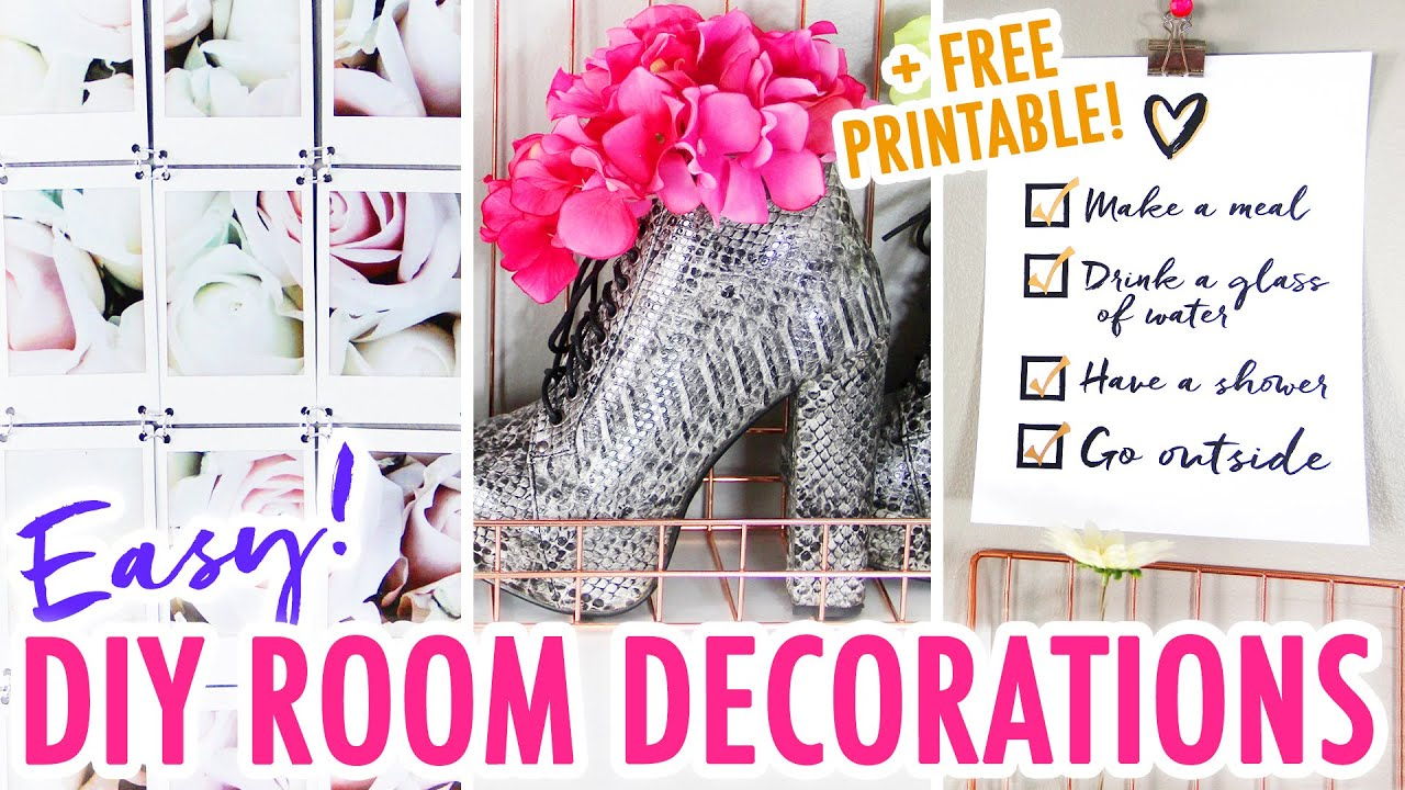 3 Easy Diy Room Decor Ideas Redesign Your For The New Year Hgtv Handmade You