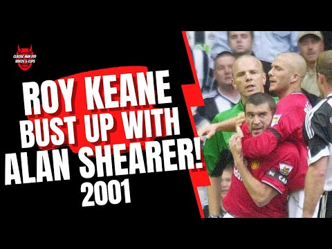 Roy Keane on his Sending Off/Bust Up with Alan Shearer 2001