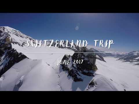 Switzerland Travel Vlog 2017: Zurich/Grindelwald/Interlaken/Blausee