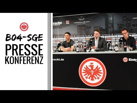 Pressekonferenz vor B04-SGE | Eintracht Frankfurt