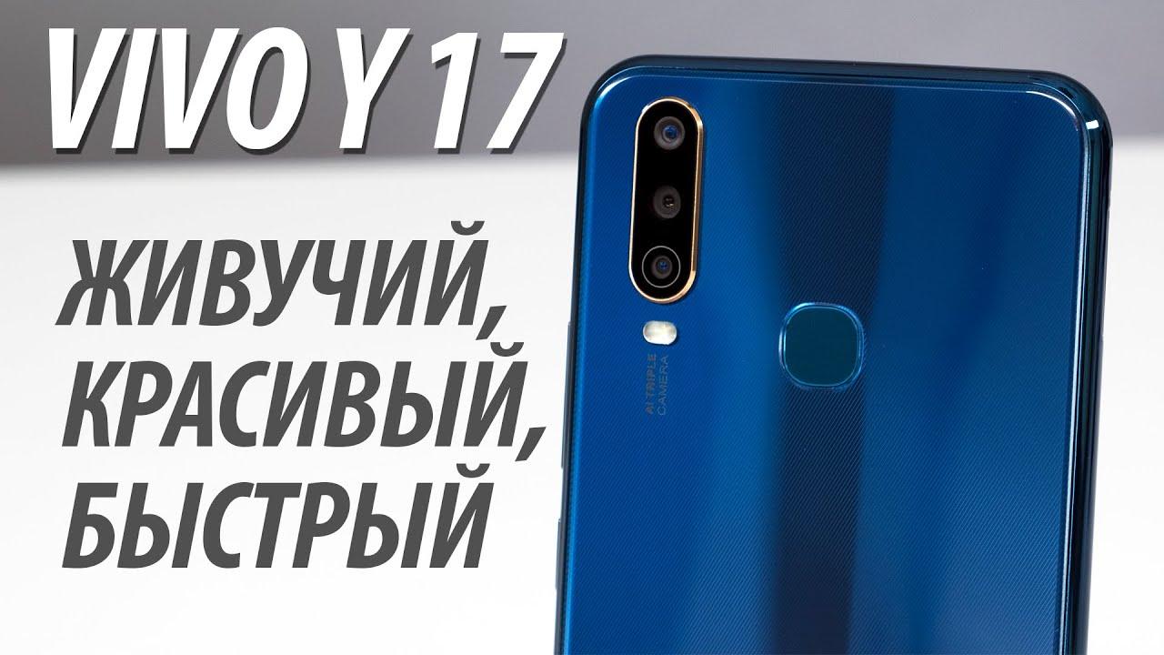 Обзор смартфона Vivo Y17