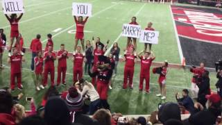 Soldier Surprises His Girlfriend With Cute Proposal At Unive...