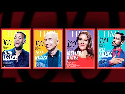 Time reveals its list of 100 most influential people of 2017