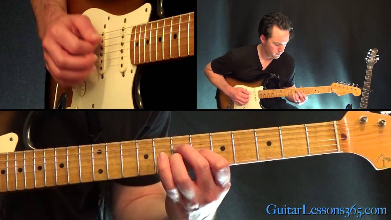 Mr  Brightside Guitar Lesson - The Killers - YouTube