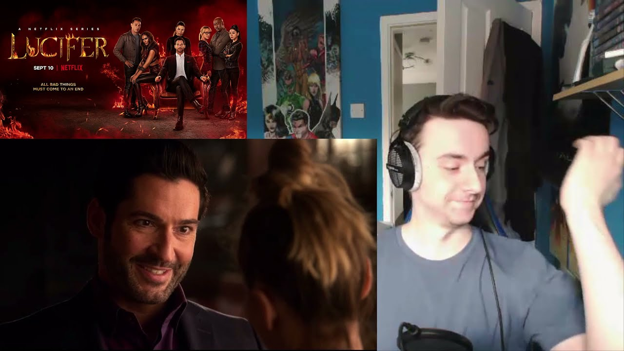 Download Lucifer Season 6 Episode 4 'Pin the Tail on the Daddy' Reaction