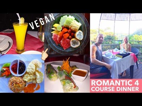 VEGAN 4 COURSE DINNER WITH PRIVATE CHEF AT KUPU KUPU BARONG BALI!