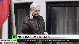 La Embajada de Ecuador en Londres elabora un nuevo protocolo para regular la conducta de Assange