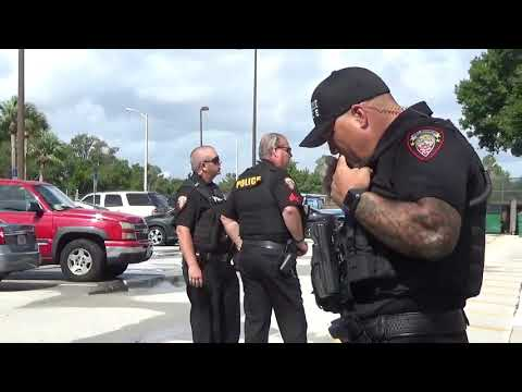 1A Audit, Surrounded by gang members, INTIMIDATION FAIL! Melbourne FL PD