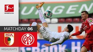 #fcam05 | highlights from matchday 6!► sub now: https://redirect.bundesliga.com/_bwcs watch the bundesliga of fc augsburg vs. 1. fsv mainz 05 from...