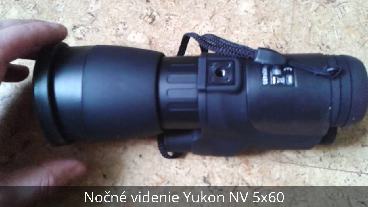Nočné videnie Yukon NV 5x60 - YouTube 5c2479c41b5