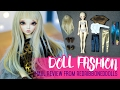 Doll Fashion ep.2 - Pants, leggings and tops - Featuring Redribboneddolls