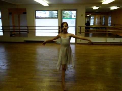 Kate McGowanClassical Ballet Solo 2010 , The Homecoming.MP4