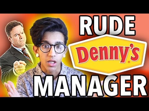 RUDE DENNY'S MANAGER - STORY TIME | ImJustKyian