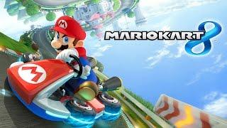 MARIO KART 8 Jogando Ao Vivo Wii U Gameplay