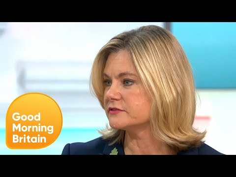 "Justine Greening Admits She ""Might"" Be Prepared to Step Into the Role of PM 