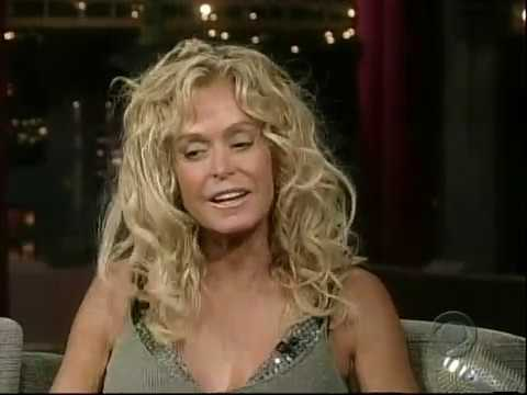 Late Show with David Letterman - Farrah Fawcett