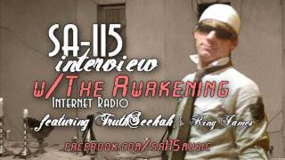 Christian RAP SA-115 interview part 1 hosted by TruthSeekah & King James
