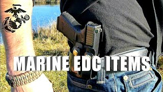 Marine Corps Everyday Carry Items and Pocket Dump HD