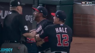 Trea Turner gets called out on interference and Dave Martinez gets ejected, a breakdown