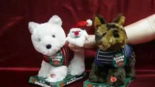 Dandee Christmas Animated Dogs