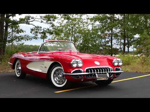 Classic Car Comparison | 1959 Corvette Vs 1955 Thunderbird | Driving.ca
