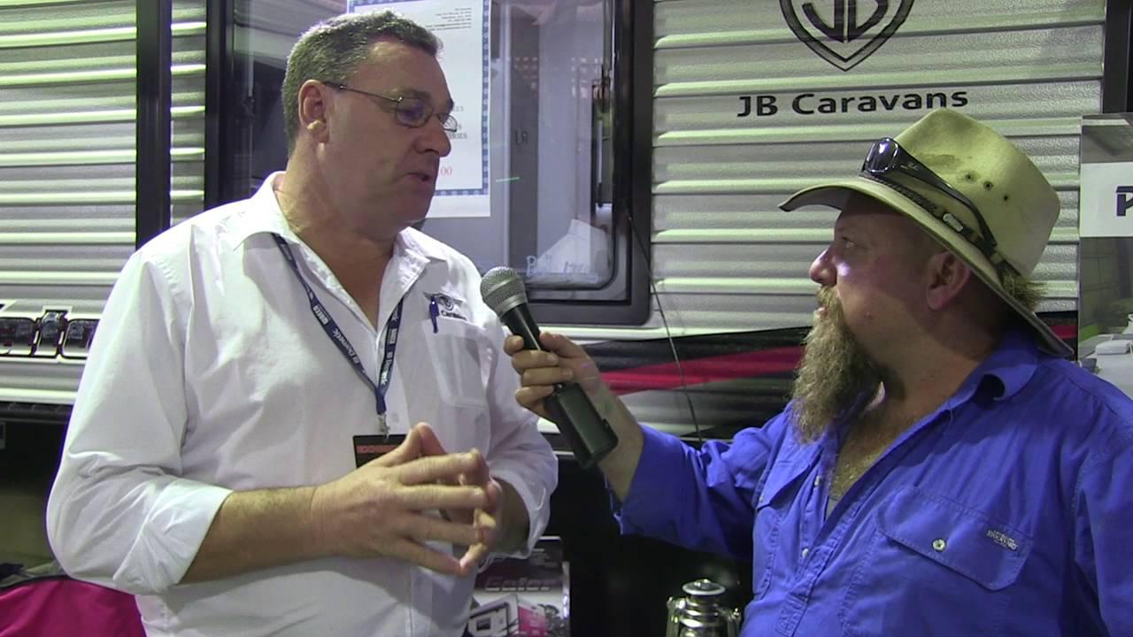 JB Caravans talk on their new Gator Off-roader at the 2016 Brisbane Caravan  Show