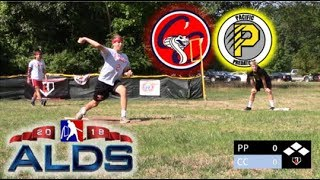 2018 ALDS | Cobras vs. Predators | MLW Wiffle Ball