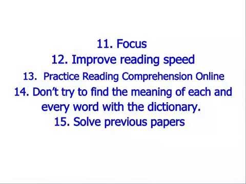 21 tips to get more marks in reading comprehension passage youtube 21 tips to get more marks in reading comprehension passage ibookread ePUb