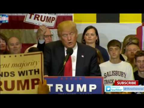 LIVE Donald Trump Ocean City Maryland Rally at Stephen Decatur High School (4 20 16)