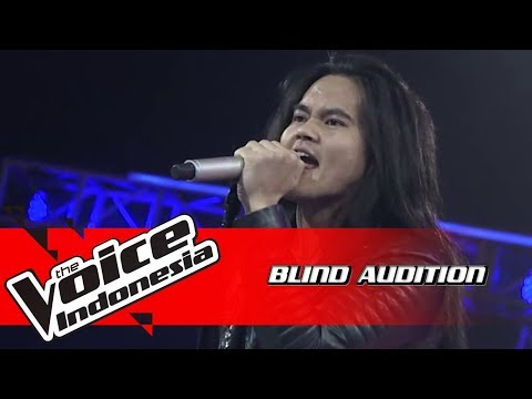 Axl - Rock and Roll | Blind Auditions | The Voice Indonesia GTV 2018
