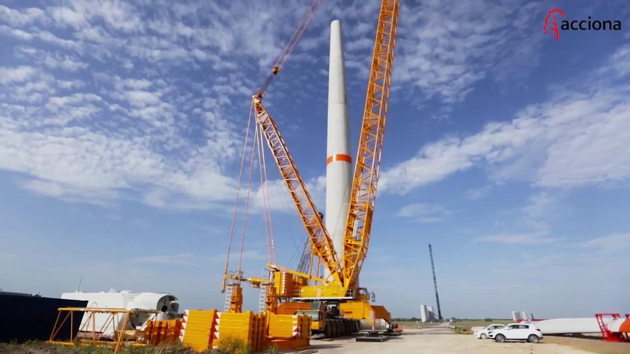 Así construimos el parque eólico El Cortijo, en México | ACCIONA