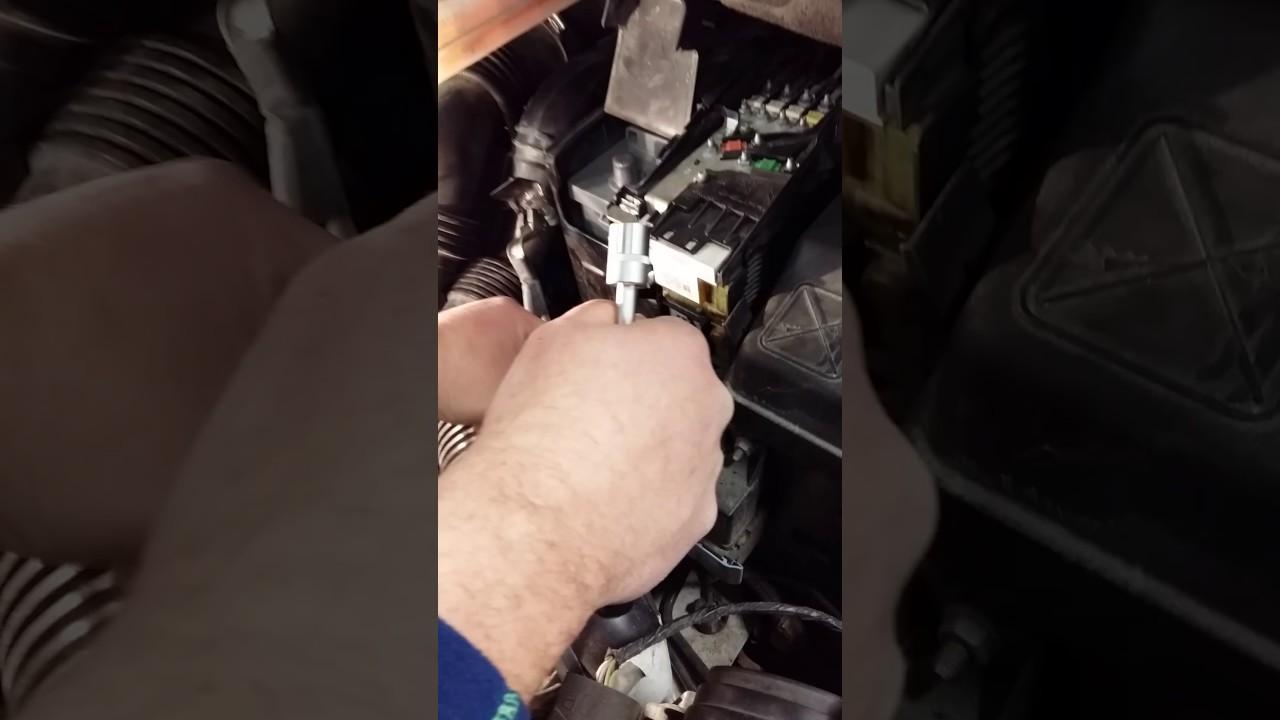 batería peugeot 3008 desmontar battery(2) - youtube