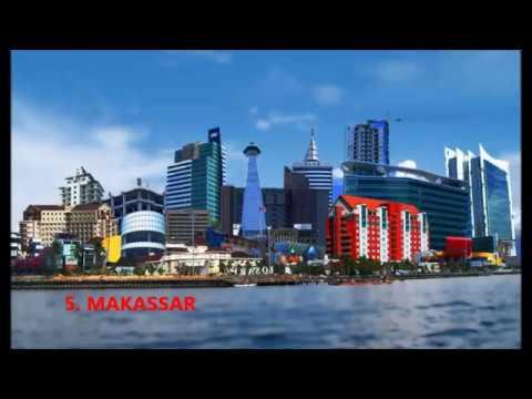 Top 10 best skylines in Indonesia (Top 10 kota)