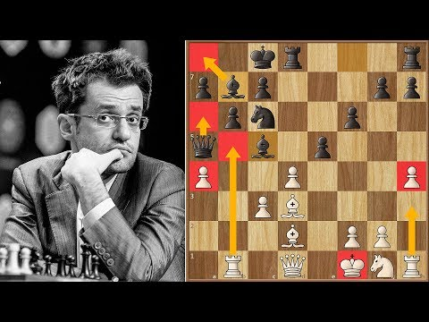 Complete Madness On The Board | Aronian Vs Ding Liren | Candidates Tournament 2018.