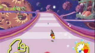 Looney Tunes Space Race; Daffy Gameplay