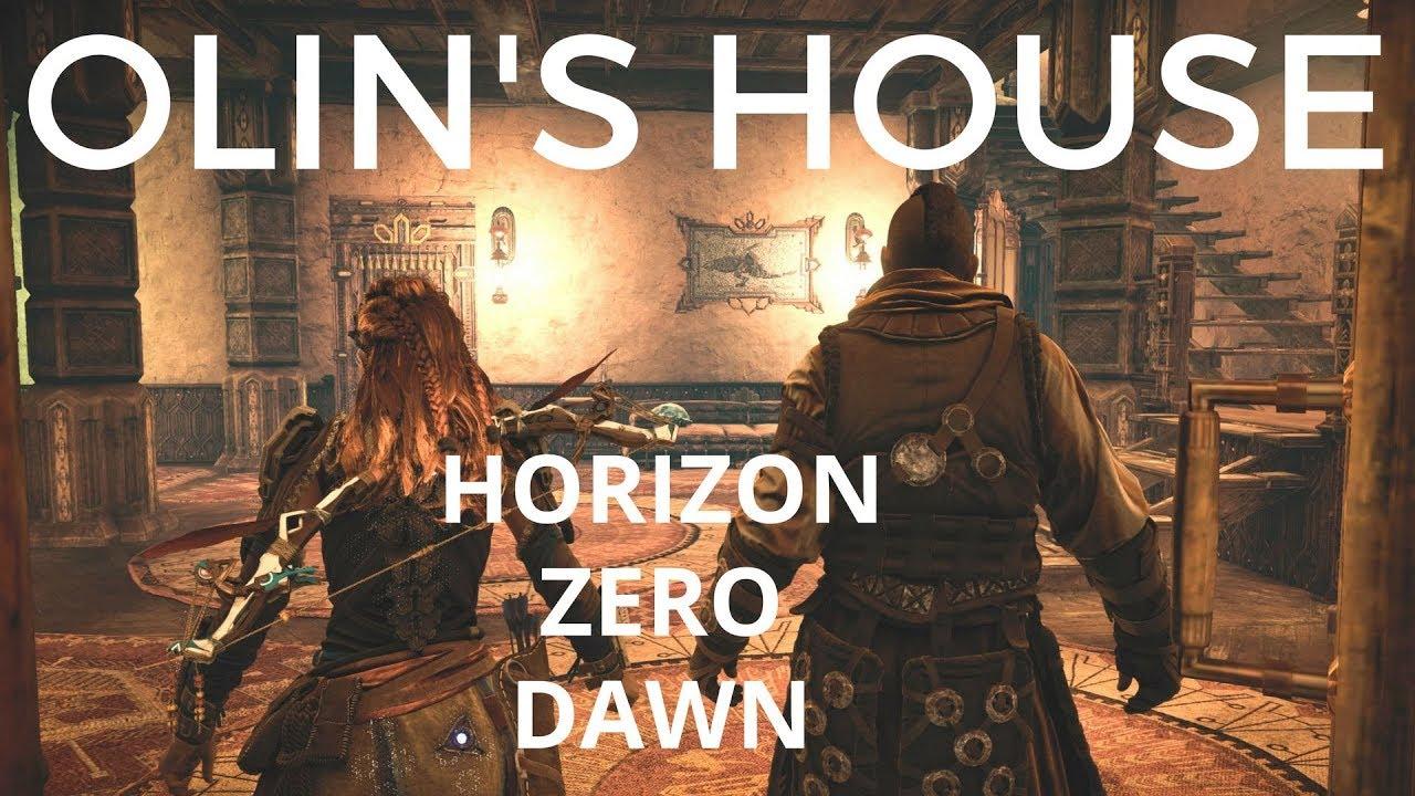Search Olins House Find Hidden Vault Floor Safe How To Open It Horizon Zero  Dawn Gameplay Apartment