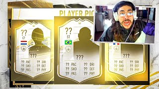 ICON PLAYER PICK PACKS!! RAREST PACK!! FIFA 21