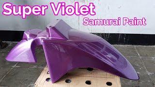Super Violet Samurai Paint