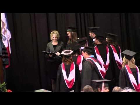 Central College Iowa 2011 Graduation