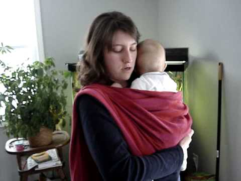 Kangaroo Carry Baby Wrapping Instructions Youtube