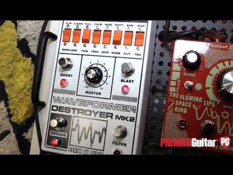 NAMM '18 - Death by Audio Deep Animation & Waveformer Destroyer MkII Demos