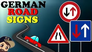 DRIVING IN GERMANY - German Road Signs & Traffic Rules Explained! 🚗 Opposing traffic & narrow lanes