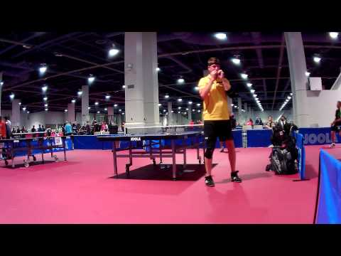 Over 40s Hardbat QF Match - 2015 U.S. Open