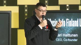 "Slush 2014 | ""Slush 100"" Pitching Competition: Music Info Finland Ltd"