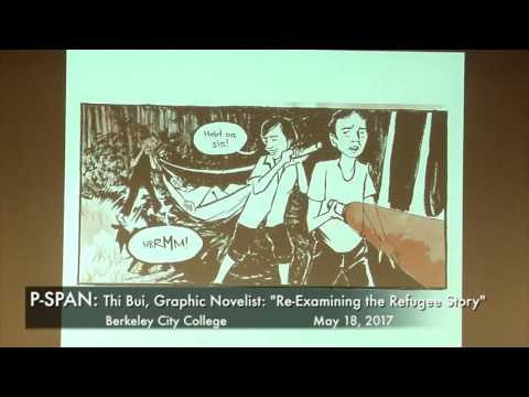 P-SPAN #575: Thi Bui, Graphic Novelist, at Berkeley City College