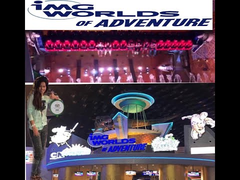 Inside Dubai's Largest Indoor Theme Park – (IMG World of Adventures – Dubai, UAE)