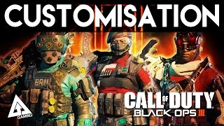 Call of Duty Black Ops 3 All Specialist Customization Options