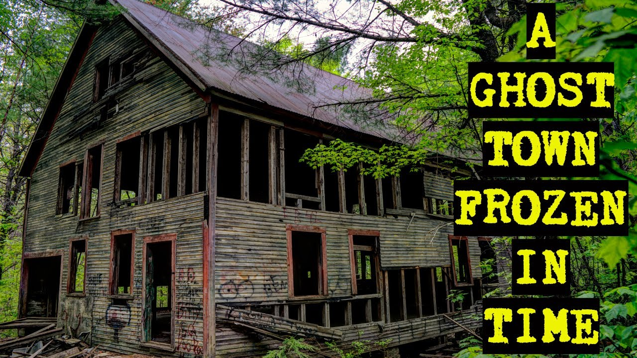 Rust in Peace: A Ghost Town Abandoned Quarry That Built America | Desertify Urbex Abandoned Places