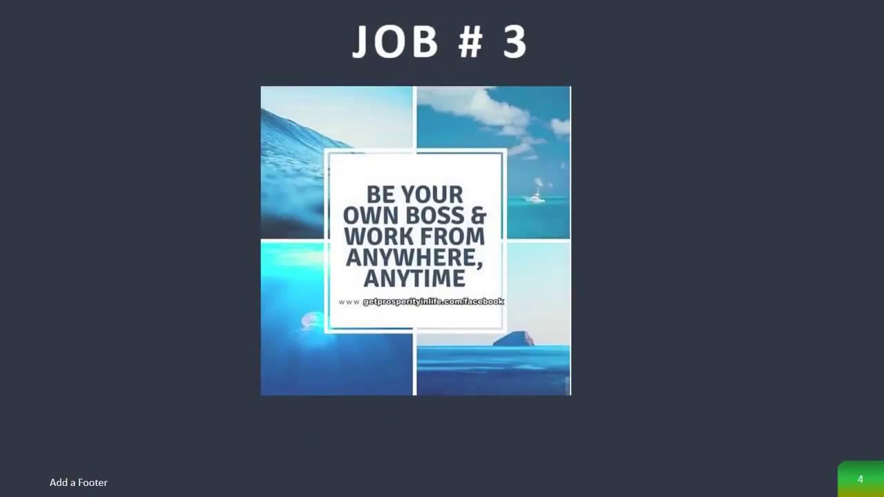 6 Recent work at home jobs list