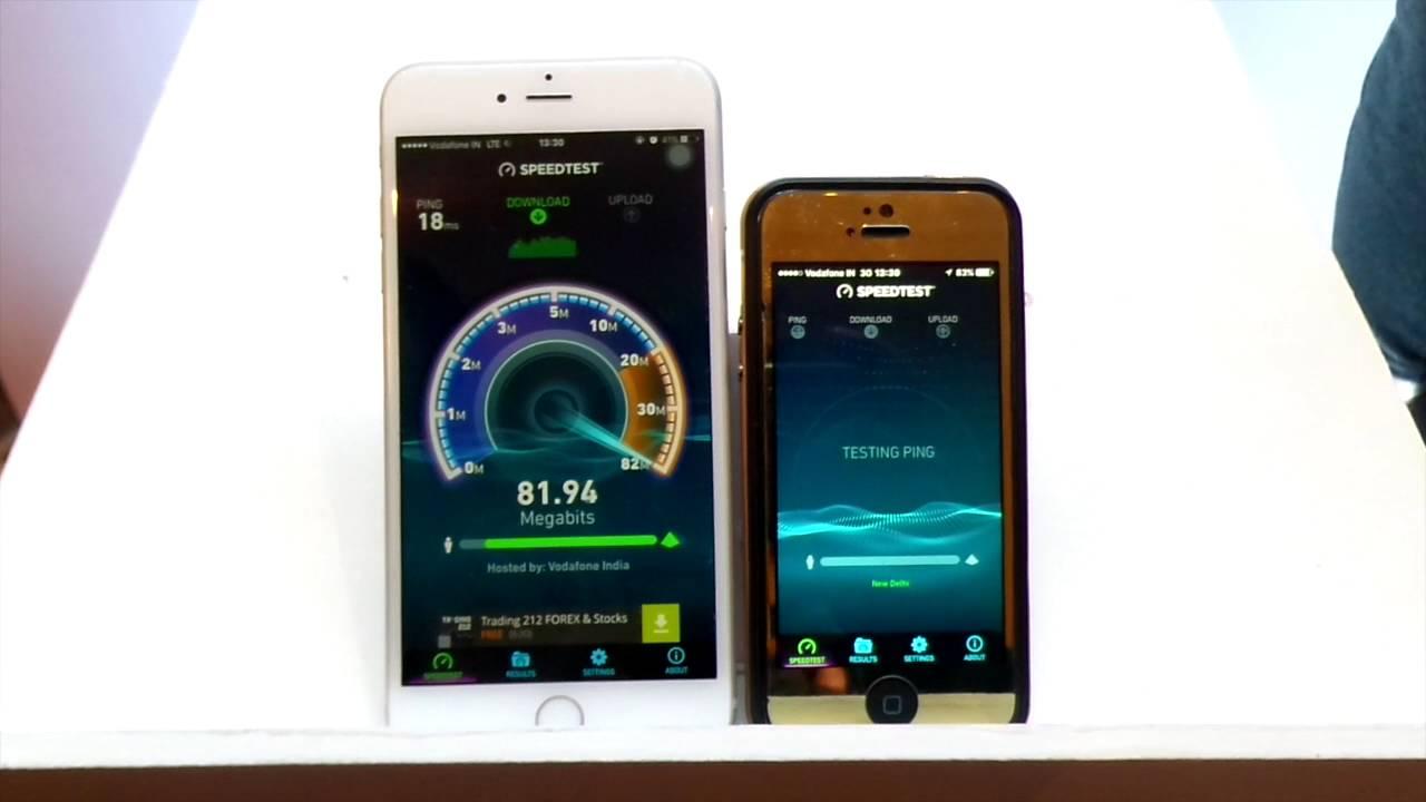Vodafone 4G (Delhi NCR) Speed test and speed comparison ...